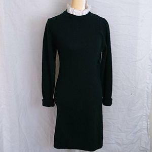 Sandro forest green sweater dress NWT sz 40 (6 US)